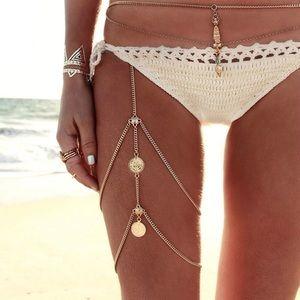 🛍NEW⚡️ Gold Leg Chain⚡️ Beach Wear⚡️ Summer Trend